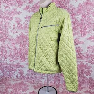 Obermeyer Quilted Puffer Jacket Coat Ladies Size 8